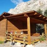 Casa mq. 26,25 sp.cm. 4,2. Cucina, c. letto, wc. + veranda mq. 26,25