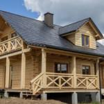 Villa mq. 76,00 + 60,00 mansarda. sp. cm 21 P.T.: Salone, cucina con dispensa, c. letto, studio, wc. P.P. : 2 c. letto, wc.