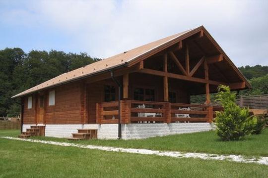 Case Di Legno E Mattoni : Case in legno