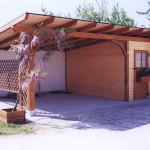 tettoia 2 posti con garge